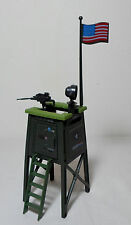 GI JOE 1984 WATCH TOWER BATTLE STATION PLAYSET 100% COMPLETE WITH SOME FLAWS HTF