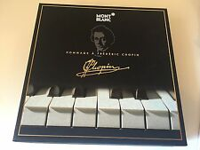 Mont Blanc Meisterstuck 145 Hommage A Frederic Chopin Boxed Set Brand New Black
