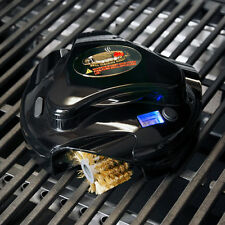 Grillbot Automatic Grill Cleaner Scrubber Easy Rechargeable Built In Timer Black
