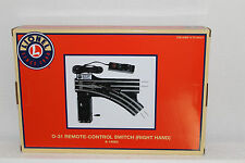 "Lionel  #14063 ""031"" Tubular Right Hand Remote Switch"