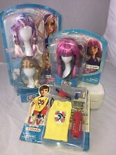 Liv Doll Wig And Accessories Lot NIB Lifeguard