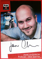 The Lost Worlds of GERRY ANDERSON - Jamie Anderson (Dick Spanner) Autograph Card