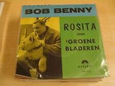 45T SINGLE / BOB BENNY - ROSITA