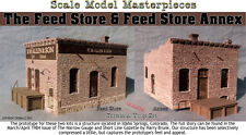 Feed Store & Feed Store Annex Kit Scale Model Masterpieces/YORKE 1:48/On30/On3