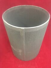 "TYCOS VALVES Sediment Element Strainer 12.5"" 9.5"" O.D. Steel Perforated Cylinder"