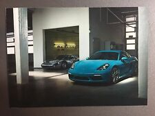 2016 Porsche 718 Cayman S Coupe Postcard, Post Card RARE!! Awesome L@@K