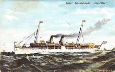 B95258 salon schnelldampfer imperator ship bateaux sweden
