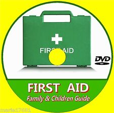 EMERGENCY BASIC FIRST AID CARE FOR CHILDREN/ FAMILY LEARNING GUIDE VIDEO DVD NEW