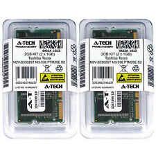 2GB KIT 2 x 1GB Toshiba Tecra M2V-S3302ST M3-336 PTM20E S2 S2-107 Ram Memory
