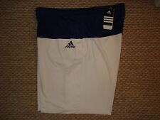 NWT Adidas Barricade Edge Tennis Shorts Murray White/Core Blue P44702 New XL