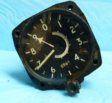 VTAVIATION WW2 ERA SMITHS SENSITIVE ALTIMETER 9847/62 INSTRUMENT PLANE GAUGE G6