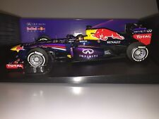 1:18 Minichamps F1 RED BULL RENAULT RB9 WINNER INDIAN GP 2013 110130201