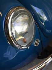 VW Bug Bus Porsche 356 Early Headlight Glass 1966 And Earlier 6V style