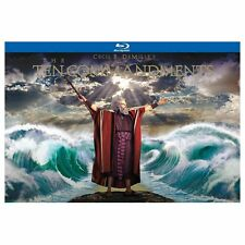 The Ten Commandments Blu-ray 6-Disc Set Ultimate Collectors Edition 2013 Heston