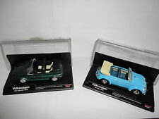 "2 Alfa Romeo ""VOLKSWAGEN CABRIOLET & VW1200"" new-ray 48489 & 48509 new in base"