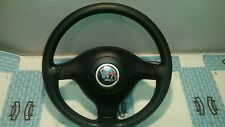 VW GOLF MK4 97-04 Passat LEATHER STEERING WHEEL + AIRBAG 3 SPOKE