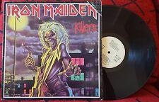 """IRON MAIDEN ***Killers*** RARE 1981 Spain RE-ISSUE LP w/ UNIQUE """"FAMA"""" COVER"""