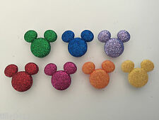 DISNEY Mickey GLITTER dress It Up Bottoni Novità Craft