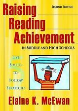 Raising Reading Achievement in Middle and High Schools: Five Simple-to-Follow St