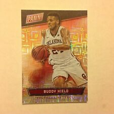 BUDDY HIELD #45 OKLAHOMA Pelicans RC 2/10 MADE Hyper plaid 2016 Panini National