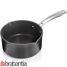 New Brabantia Solid Tritanium Double Spout  Saucepan / Milk Pan 16CM RRP £47.29