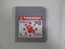 GB -- Ring Rage -- Game Boy, JAPAN Game Nintendo. Clean & Work fully!! 13224