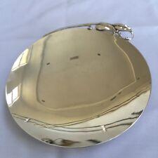 SALE Antique Sterling Silver Vintage Art Nouveau Plates SET OF FOUR Fabulous
