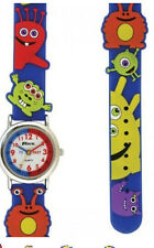 Ravel Para Niños Monster Reloj Con 3d En Relieve Correa Azul, Time Teacher r1513.60