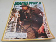 World War II 2 Magazine May 1988 Aleutian Naval Attack Khalkin-gol Battle German