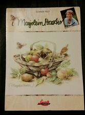 Cross Stitch Pattern ~ Lanarte / Marjolein Bastin Summer Fruit Basket #34261