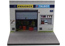 Diorama présentoir Peugeot Talbot - 1/43ème - #MR43A089