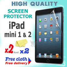 2 new High Quality Screen protective protection film foil for apple iPad Mini 2