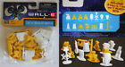 WALL E BAG O BOTS 15 FIGURE ROBOT SET EVE M O PAINTBOT DISNEY NEW SEALED MISP !