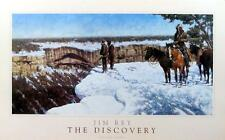 The Discovery Jim Rey Old West Poster Image 28 x 14