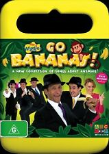 The Wiggles - Go Bananas! With Kylie Minogue (R4 DVD, 2009) Fast Free Post!