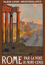 Rome Italy Travel Vacation Holiday A3 Art Poster Print
