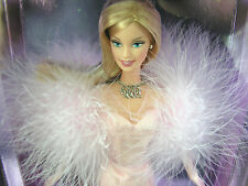 SALE - 2002 COLLECTOR EDITION Barbie Doll in Pink Gown wMarabou - NIB New NRFB