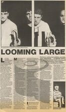 4/3/89Pgn12 Article & Picture 'looming Large' Inspiral Carpets Taking The Pressu