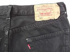 "LEVIS 501 REGULAR FIT JEANS W34"" L32"" BLUE (ORIGINAL) 706"