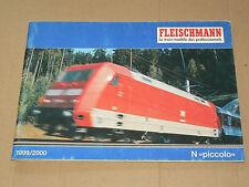GROS Catalogue Train FLEISCHMANN 1999  N Piccolo Prospekt   brochure prospectus