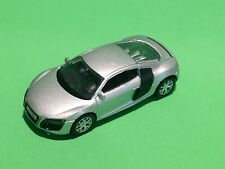 RMZ CITY COLLECTION MINIATURE DIE CAST GRAY AUDI R8 V10 CAR PULL BACK & GO
