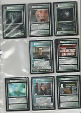Star Trek customizable Card Game ccg First Contact tarjetas individuales selección Select