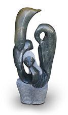 Mystische Shona Art Naturstein Skulptur Höhe 91 cm, 59 kg. Unikat! Signiert.