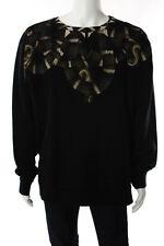 Marcelo Burlon Multi-Color Cotton Sweat Shirt Size Extra Large $465 New 089385
