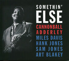 SOMETHIN' ELSE CANNONBALL ADDERLEY - 2 CD BOX SET