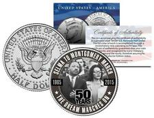 SELMA TO MONTGOMERY MARCH *50 Year Anniversary* 2015 JFK Half Dollar US Coin MLK