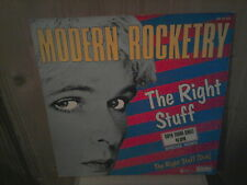 "MODERN ROCKETRY the right stuff 12"" MAXI 45T"