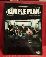 Simple Plan music / guitar tab book Still not getting any ...