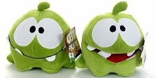 "OFFICIAL NEW 8"" CUT THE ROPE HUNGRY FACE AND HAPPY FACE PLUSH OM NOM SOFT TOY"