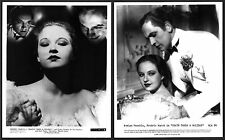DEATH TAKES A HOLIDAY Evelyn Venable FREDRIC MARCH Lot of 2 PHOTOS
